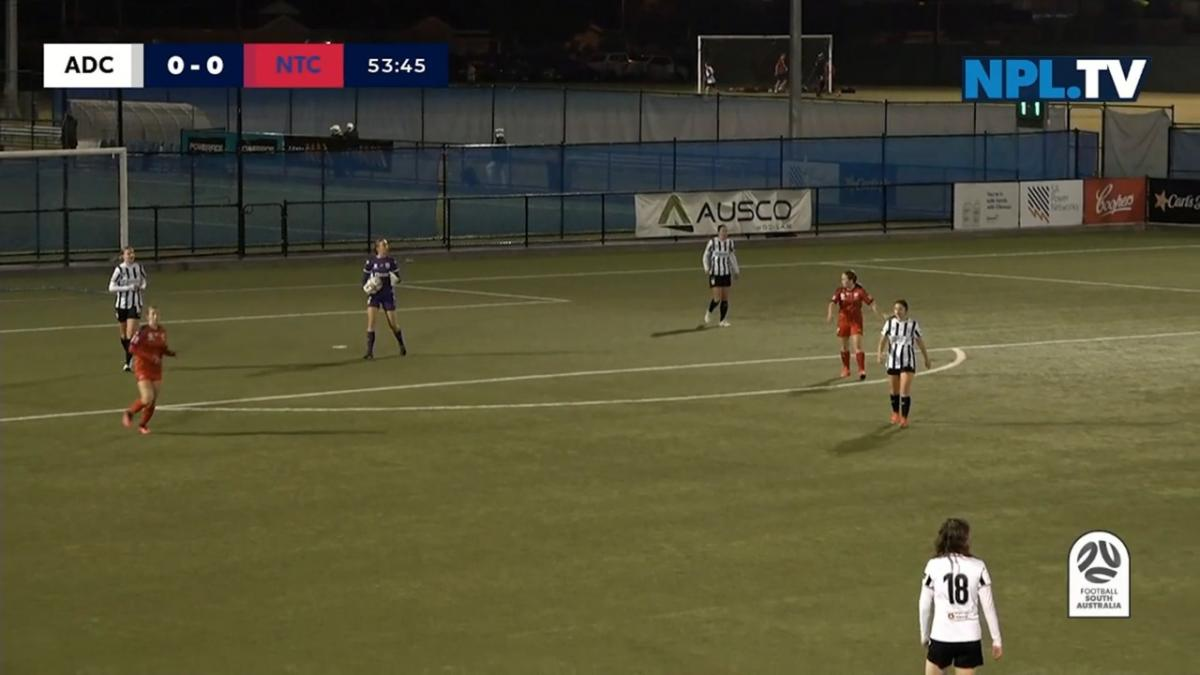 NPLW South Australia Round 10 - Adelaide City v Football SA NTC Highlights