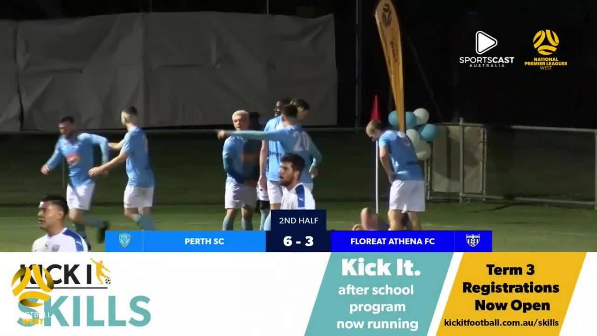 NPLWA Top Four Cup Final Highlights: Perth SC 6-3 Floreat Athena