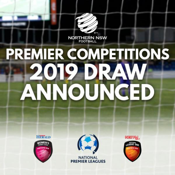 NNSWF Premier Competitions Season 2019 Draws Announced