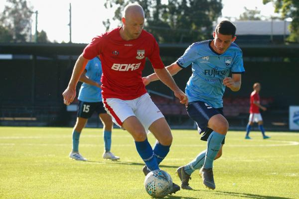 Sydney United v Sydney FC - pic courtesy of Football NSW
