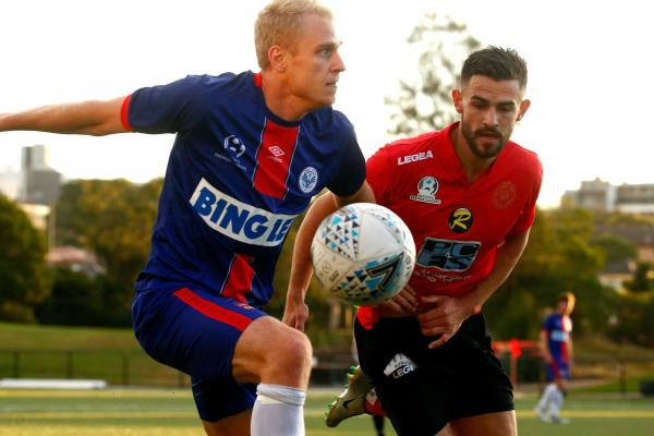 Manly United v Rockdale City - pic courtesy of Football NSW