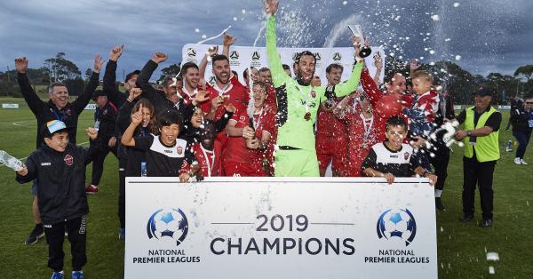 Wollongong Wolves NPL 2019 Champions