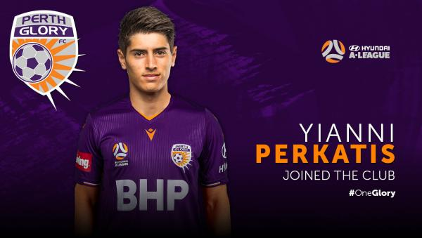 Versatile Perkatis joins Glory squad