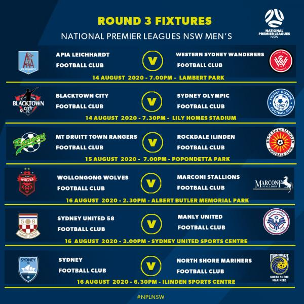 NPL NSW Men's - Round 3 Preview