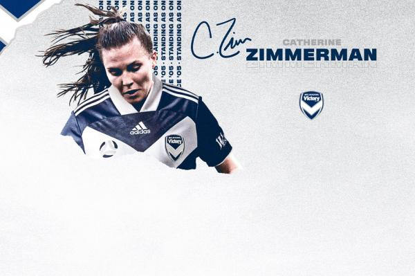 Catherine Zimmerman Melbourne Victory