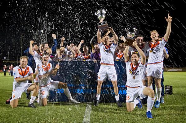 Lions FC NPL QLD 2020 Champions