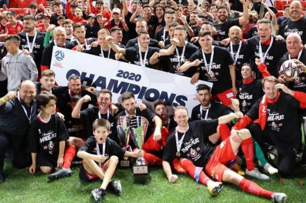 NPL SA Grand Final 2020 Champions
