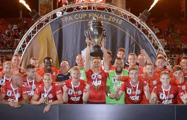 Adelaide United FFA Cup winners 2018